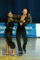 Dmytro Wloch & Olga Urumova at IDU World Cup 2009