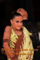 Maksim Bodnar & Elyzaveta Vnuchkova at Dutch Open 2012