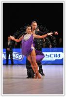 Anton Karpov & Ekaterina Lapaeva at Dynasty Cup