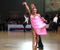 Dmytro Wloch & Viktoriya Kharchenko at Embassy Ball