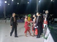 Dmytro Wloch & Viktoriya Kharchenko at Parade of Hopes - IDSA European Championships 2012