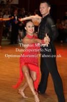 Dmytro Wloch & Viktoriya Kharchenko at All England Championships