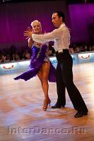 Michal Malitowski & Joanna Leunis at WDC Professional European Latin Championships