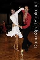 Michael Glikman & Milana Deitch at International Megastars DanceSport Festival