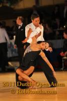 Kirill Belorukov & Elvira Skrylnikova at Dutch Open 2011