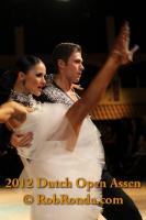 Kirill Belorukov & Elvira Skrylnikova at Dutch Open 2012