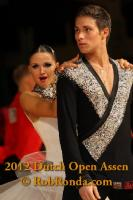 Kirill Belorukov & Elvira Skrylnikova at Dutch Open 2012