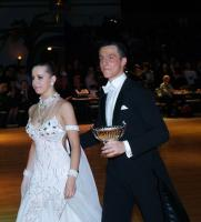 Vladyslav Dolya & Oleksandra Sidorova at Dutch Open 2008