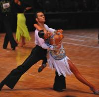 Denys Drozdyuk & Antonina Skobina at US National Amateur DanceSport Championships