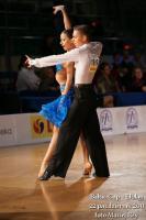 Mateusz Brzozowski & Justyna Mozdzonek at Baltic Cup 2011