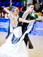 Mateusz Brzozowski & Justyna Mozdzonek at Academy Cup 2012