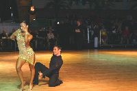 Darren Bennett &amp; Lilia Kopylova at Dutch Open 2003
