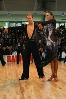 Neil Jones & Ekaterina Jones at World Amateur Latin Championships