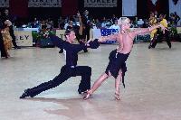 Jesper Birkehoj & Anna Anastasiya Kravchenko at 43rd Savaria Dance Festival