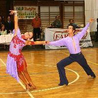 Andrea Silvestri & Martina Váradi at IV. RexTerra Cup