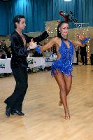 Andrea Silvestri & Martina Váradi at Hungarian Latin Ranking and club competition