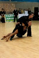 Andrea Silvestri &amp; Martina Vradi at Hungarian Latin Ranking and club competition