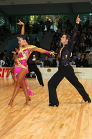 Andrea Silvestri & Martina Váradi at World Amateur Latin Championships