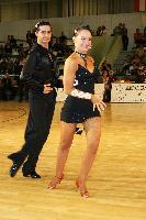 Andrea Silvestri & Martina Váradi at IDSF Győr Open 2009