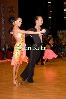 Ivan Bocharov & Josefina Ortova at Czech Open 2008