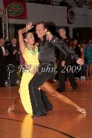 Ivan Bocharov &amp; Josefina Ortova at Czech Latin Championship 2009