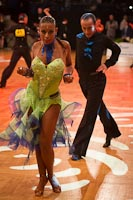 Stefan Green & Adriana Sigona at German Open 2012