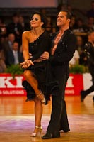 Andrej Skufca & Melinda Torokgyorgy at German Open 2010
