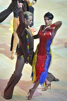 Cedric Meyer &amp; Angelique Meyer at Blackpool Dance Festival 2012