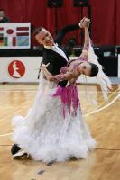 Marek Kosaty & Paulina Glazik at Slovenian Open 2010