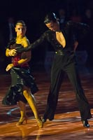 Andrea Silvestri & Martina Váradi at Beodance Open 2010