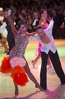 Ke Qiang Shao & Na Yang at Blackpool Dance Festival