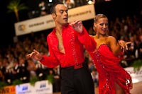 Franco Formica & Oxana Lebedew at German Open 2010