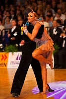 Evgeni Smagin & Polina Kazatchenko at German Open 2010