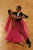 Marco Lustri & Alessia Radicchio at German Open 2007