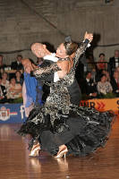 Benedetto Ferruggia & Claudia Köhler at German Open 2007