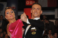 Benedetto Ferruggia & Claudia Köhler at Austrian Open 2008