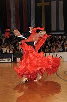 Andrea Ghigiarelli & Sara Andracchio at Austrian Open Championshuips 2008
