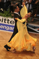 Simone Segatori & Annette Sudol at German Open 2007