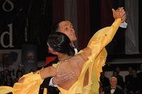 Simone Segatori & Annette Sudol at Austrian Open 2008