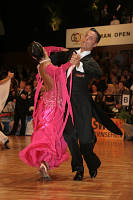 Andrea Zaramella &amp; Letizia Ingrosso at German Open 2007