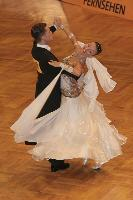 Mauro Favaro & Angelina Shabulina at German Open 2007