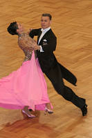 Luca Rossignoli & Veronika Haller at German Open 2007