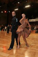 Franco Formica & Oxana Lebedew at German Open 2007
