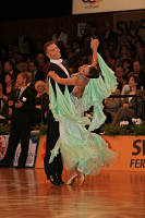 Sergei Konovaltsev & Olga Konovaltseva at German Open 2007