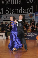 Sergei Konovaltsev & Olga Konovaltseva at Austrian Open Championshuips 2008