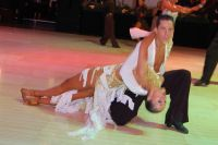 Ron Garber & Ashley Goldman at Blackpool Dance Festival 2011