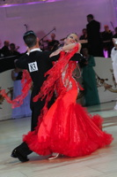 David Moretti & Francesca Sfascia at Blackpool Dance Festival 2012