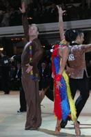 Cedric Meyer & Angelique Meyer at Blackpool Dance Festival 2012