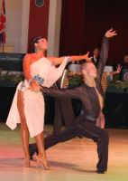 Jonas Kazlauskas &amp; Jasmine Chan at Blackpool Dance Festival