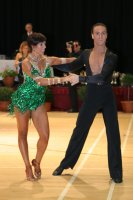 Stefan Green & Adriana Sigona at International Championships 2008